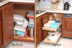 Kitchen Cabinet Organizer by Gorgeous Corner Kitchen Cabinet Organization Organized Kitchen