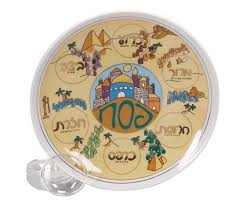 passover plates biblical holidays passover plates seder plate colorful desert