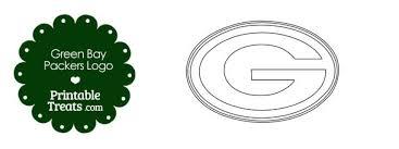 printable green bay packers logo template u2014 printable treats com