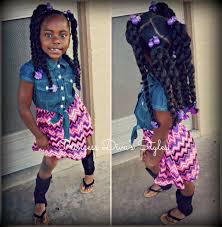 little girls style using cuban twist hair u0026 ootd 3 7 16 youtube
