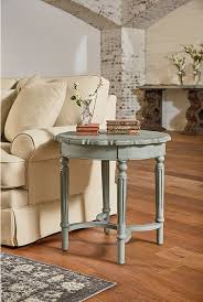 pie crust end table magnolia home living room french inspired short pie crust table