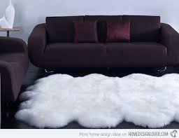 Soft Area Rugs Indulge In Soft Pleasures With 15 Sheepskin Area Rugs Home