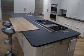 slate kitchen countertops slate countertop simple we first scrubbed and scraped the smooth