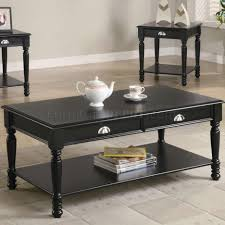 coffee tables astonishing black coffee and end table sets should