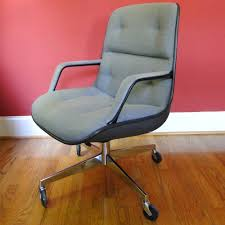 Upholstered Swivel Chairs 1980s Steelcase Upholstered Swivel Chair The Office Chair
