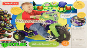 Radio Flyer Turtle Riding Toy Fisher Price Nickelodeon Teenage Mutant Ninja Turtles Lights Youtube