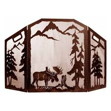 Country Fireplace Screens by Fireplace Screens Bear Creek Country Decor Country Furniture