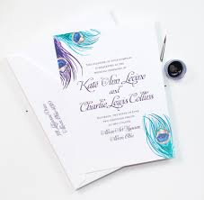peacock invitations wedding invitations peacock design wedding invitations your