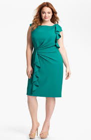adrianna papell ruffled sheath dress plus available at