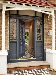 Bench By Front Door Front Door Entrance Designs Exterior Victorian With Eyebrow
