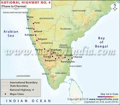 driving directions maps national highway 4 driving directions map thane to chennai road map