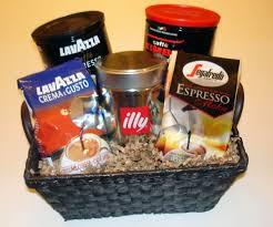 coffee gift basket the italian coffee gift basket