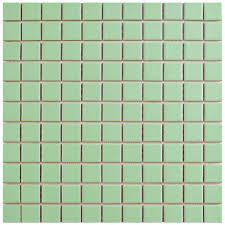 merola tile metro square matte light green 11 3 4 in x 11 3 4 in