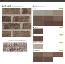 castlerock salisbury collection residential brick boral behr