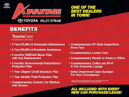 toyota products and services advantage toyota valley stream service center in valley stream