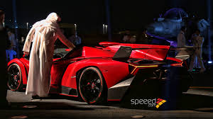 owners of lamborghini veneno veneno roadster presented on aircraft carrier nave cavour