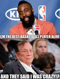 Donald Sterling Memes - nba memes on twitter james harden vs donald sterling http t co