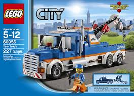 tow truck videos monster truck amazon com lego city great vehicles 60056 tow truck toys u0026 games