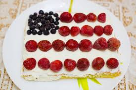 Dessert Flags How To Make An American Flag Cake 8 Steps With Pictures