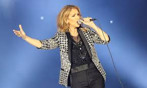 selin dion celine dion handles stage invader without security