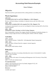Sample Resume Objectives For Bookkeeper by Excellent Resume For Office Manager Bookkeeper An Image Part Of 26