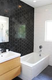ideas hexagon tiles bathroom with staggering hexagonal tiles