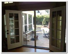 French Patio Doors With Screen by For My Back Door Out To The Deck Dreaming Of A New Kitchen