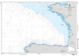 Brest France Map by Bay Of Biscay Brest To Cabo Finisterre Nautical Chart 37025 By