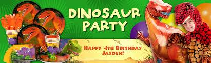 dinosaur birthday party supplies dinosaur party birthday in a box party supplies decorations