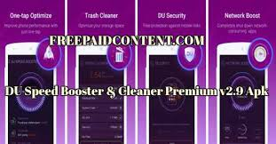 du speed booster pro apk du speed booster cleaner v2 9 freepaidcontent