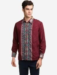 desain baju kekinian desain baju batik pria modern yang elegan dan 40 contoh model kemeja