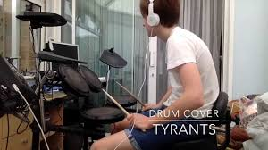 tyrants drum cover catfish u0026 the bottlemen youtube