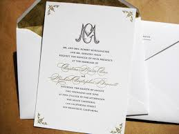 Formal Invitations Wedding Formal Invitation Paperinvite