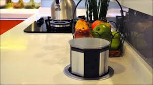 kitchen counter pop up electrical outlet kitchen cabinets