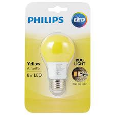 bug light light bulbs philips yellow bug a19 led l