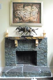 making such an awesome dry stack stone fireplace in your home