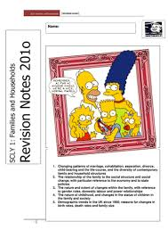 family as revision booklet sociology by alevelstudent333