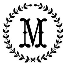 monogram wreath wreath monogram 2712 designs