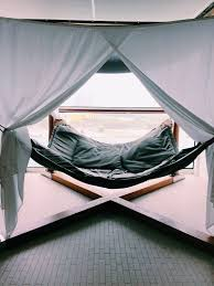 Trampoline Hanging Bed by 20 Coolest Hammocks Ever The Diy Lighthouse
