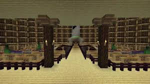 Minecraft Project Ideas Minecraft Projects Huge Library Hd Youtube