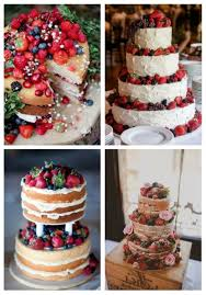 33 yummy berry cakes for summer weddings happywedd com
