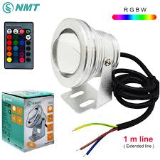 submersible led fountain lights 10w led underwater light dc12v ip68 waterproof rgbw swimming pool