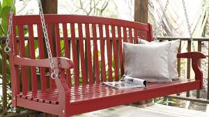daybed porch swing cushions with back canopy swing bed costco