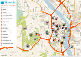 Portland Maps Com by File Portland Printable Tourist Attractions Map Jpg Wikimedia