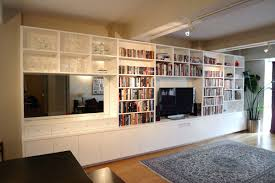 Wall Unit Bookshelves - bookcase 12 barn door projects that will make you want to
