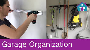 how to install fasttrack garage organization system youtube