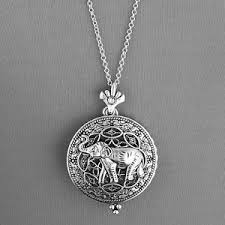 ebay necklace silver images Magnifying glass necklace ebay JPG
