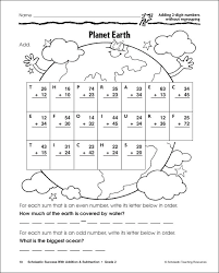 digit addition and subtraction without regrouping worksheets
