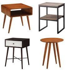 mid century modern accent table modern accent tables wood the holland in 5 bisikletlisahaf com