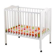 Delta Portable Mini Crib Delta Children S Portable Crib In White Buybuy Baby